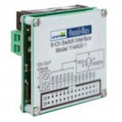 Leviton 114A00-1 - Omni-Bus 6-Channel Universal Switch Interface Modules - LED - Electronic Low Voltage - Halogen
