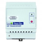 Leviton 115A00-1 - TO BE CHANGED - Omni-Bus rf Transceiver Din Rail - LED - Electronic Low Voltage - Halogen