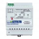 Leviton 124A00-1 - Omni-Bus Power Supply Interface 2A DIN Rail
