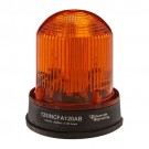 Edwards 125INCFA24DB - Adaptabeacon Flashing Light - 24VDC - 0.610 A - Amber - NEMA 4X Enclosure - Black Base