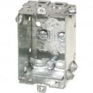 "VISTA 20145 1 1/2"" Deep Box w/Clamps Less Ears - 1100-LLE - 50 Pcs"