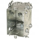 "VISTA 20149 2 1/2"" Deep Device Box w/Armoured Clamps - 1104-LHA - 50Pcs"