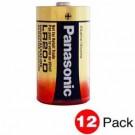 Panasonic LR20XWA/C - 1.5 Volts - D Size - Industrial Alkaline Battery - 12 PACKS