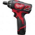 "Milwaukee 2401-22 - M12 1/4"" Hex Screwdriver Kit"