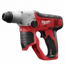 "Milwaukee 2412-20 - M12 Cordless 1/2"" SDS-Plus Rotary Hammer (Bare Tool)"