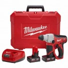 "Milwaukee 2412-22XC - M12 Cordless Lithium-Ion 1/2"" SDS-Plus Rotary Hammer Kit"