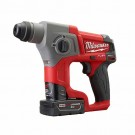 "Milwaukee 2416-22XC -M12 FUEL 5/8"" SDS Plus Rotary Hammer Kit"