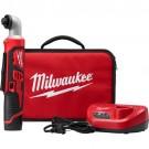 "Milwaukee 2467-21 - M12 1/4"" Hex Right Angle Impact Driver Kit"