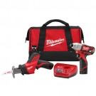 Milwaukee 2491-22 - M12 Cordless LITHIUM-ION 2-Tool Combo Kit