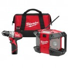 Milwaukee 2492-22 - M12 Cordless Lithium-Ion 2-Tool Combo Kit