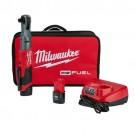 "Milwaukee 2558-22 - M12 FUEL™ 1/2"" Ratchet 2 Battery Kit"