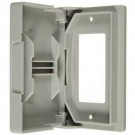 VISTA 25706 - GFCI Weatherproof Outlet Cover - White