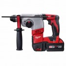 "Milwaukee 2605-22 - M18 Cordless Lithium-Ion 7/8"" SDS-Plus Rotary Hammer Kit"
