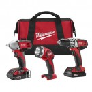 Milwaukee 2691-23 - M18 Cordless LITHIUM-ION 3-Tool Combo Kit