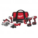 Milwaukee 2696-26 - M18 Cordless LITHIUM-ION 6-Tool Combo Kit