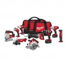 Milwaukee 2696-29 - M18 Cordless LITHIUM-ION 9-Tool Combo Kit