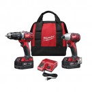 Milwaukee 2697-22 - M18 Cordless LITHIUM-ION 2-Tool Combo Kit