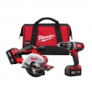 Milwaukee 2698-22 - M18 Cordless LITHIUM-ION 2-Tool Combo Kit