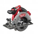 "Milwaukee 2730-20 - M18 FUEL™ 6-1/2"" Circular Saw - 5/8"" Arbor Size - LED Light -  5,000 RPM Speed - Magnesium Blade Guard -  Magnesium Shoe - 50 degrees Maximum Bevel Capacity - M18 Battery System - Cordless Power Source"