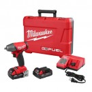 "Milwaukee 2754-22CT - M18 FUEL 3/8"" Compact Impact Wrench w/ Friction Ring Kit - CP Batteries"