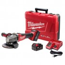 "Milwaukee 2781-22 - M18 FUEL 4-1/2"" / 5"" Grinder, Slide Switch Lock-On Kit"