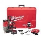 "Milwaukee 2788-22HD - M18 FUEL™ 1-1/2"" Lineman Magnetic Drill High Demand™ Kit"