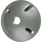 VISTA 28005 - Round 1-Hole Cover w/gasket - Grey