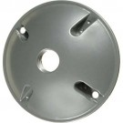 VISTA 28012 - Round 1-Hole Cover w/gasket - White