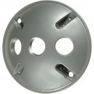 VISTA 28032 - Round 3-Hole Cover w/gasket - White