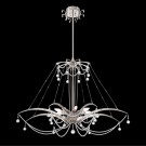 Eurofase 28145-011 - Gambari - 8 Light Chandelier - Satin Nickel - 120V - 40W - B10 - E12