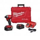 "Milwaukee 2853-22 - M18 FUEL™ 1/4"" Hex Impact Driver Kit"