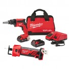 Milwaukee 2866-22CTP - M18 FUEL™ Drywall Screw Gun Compact and Cutout Kit