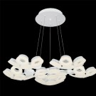 Eurofase 29094-011 - GLENDALE - 30-LIGHT LED CHANDELIER - White Finish - Frosted - 120V - 2.4W - 4710 Lumens - 4200K Cool White