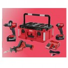 Milwaukee 2997-23POC - M18™ FUEL 3pc Combo Kit + PACKOUT Large Tool Box