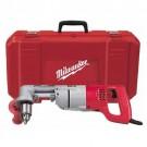 "Milwaukee 3102-6 - 1/2"" D-Handle Right Angle Drill Kit - 0-500 RPM"
