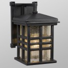 Galaxy Lighting 320296BK - 1 Light Outdoor Wall Mount Lantern - Black Finish - A19 - Medium Base - 100 Watt
