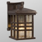 Galaxy Lighting 320296BZ - 1 Light Outdoor Wall Mount Lantern - Bronze Finish - A19 - Medium Base - 100 Watt