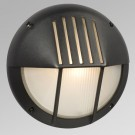 Galaxy Lighting 320360BK - 1 Light Marine Light - Black Finish - A Shape - Medium Base - 100 Watt