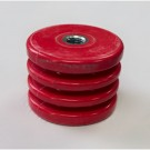 BEL 3213-S6 - Polyester Insulators - Red - 2500V