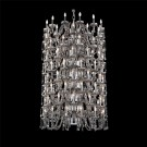 Eurofase 33763-026 - FERRERO - 108-LIGHT NINE-TIER CHANDELIER - 60W - Smoke - 120V - B10 - E12