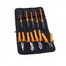 Ideal Industries 35-9108, 9-Piece Insulated Tool Kit W/Bag