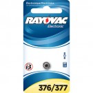 Rayovac 376/377-1ZM - Silver Oxide Button Battery - 1.5 Volt - For Watches and Calculators - 376/377 Size