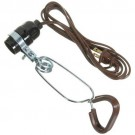 VISTA 40324- Clamp-on-Lamp - 18/2 SPT-2, No Reflector - 2M cord - Brown