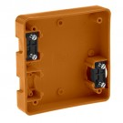 Leviton 4254-OR - Four-In-One Portable Box - To Be Used Only with Catalog No.1254 and 21254 - ORANGE