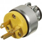 VISTA 45416 - Plug 20A/125V w/Clamp - Yellow