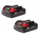 Milwaukee 48-11-1811 - M18 REDLITHIUM Compact Battery Two Pack