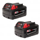 Milwaukee 48-11-1822 - M18 REDLITHIUM High Capacity Battery Two Pack