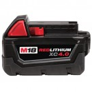 Milwaukee 48-11-1840 - M18 REDLITHIUM XC 4.0 Extended Capacity Battery Pack