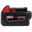 Milwaukee 48-11-1850 - M18 REDLITHIUM XC5.0 Extended Capacity Battery Pack