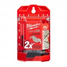 Milwaukee 48-22-1952 - Hook Utility Knife Blades w/ Dispenser - 50 Packs